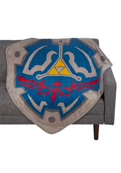 Zelda Fleece Shield Throw Alt 1