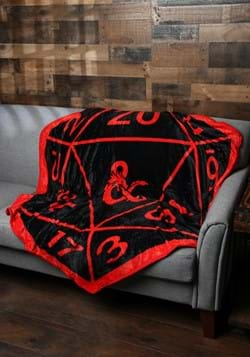 Dungeons & Dragons Shaped D20 Throw_Update
