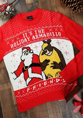 Friends It's the Holiday Armadillo! Ugly Christmas