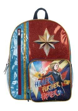 Kids Captain Marvel Backpack