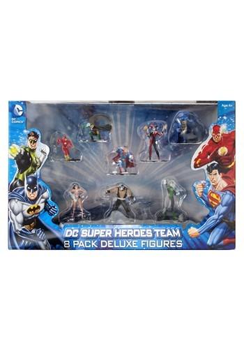 """DC Comics 4"""" Figure 8 Pack Set"""