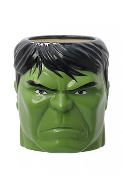 Hulk Head Sculpted Mug