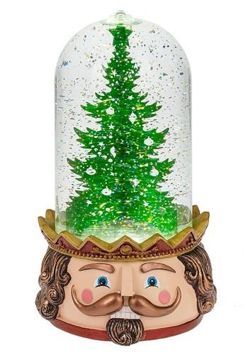 LED Lighted Nutcracker Tree Scene Christmas Globe