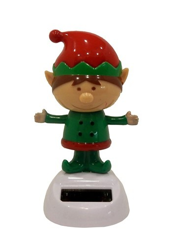Elf Solar Dancer Christmas Decor