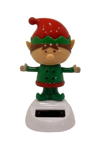 Elf Solar Dancer Christmas Decor