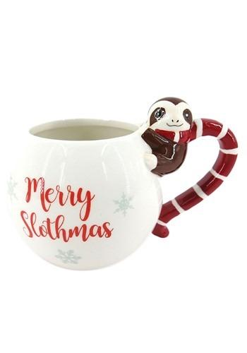 """""""Merry Christmas"""" Sloth Mug 13 oz"""