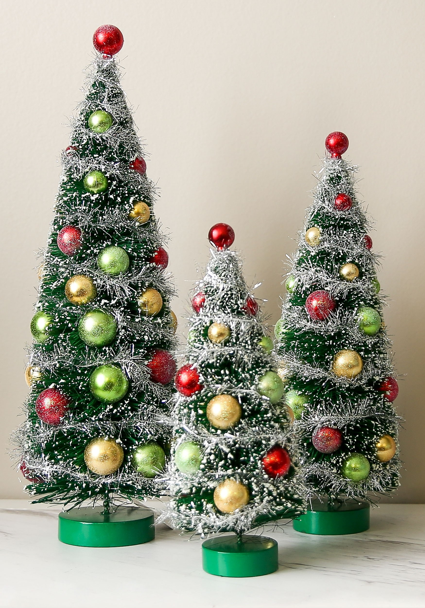 Christmas Tree Decorations 3 Pc Set