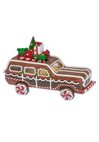 Lighted LED Gingerbread Truck Christmas Decor