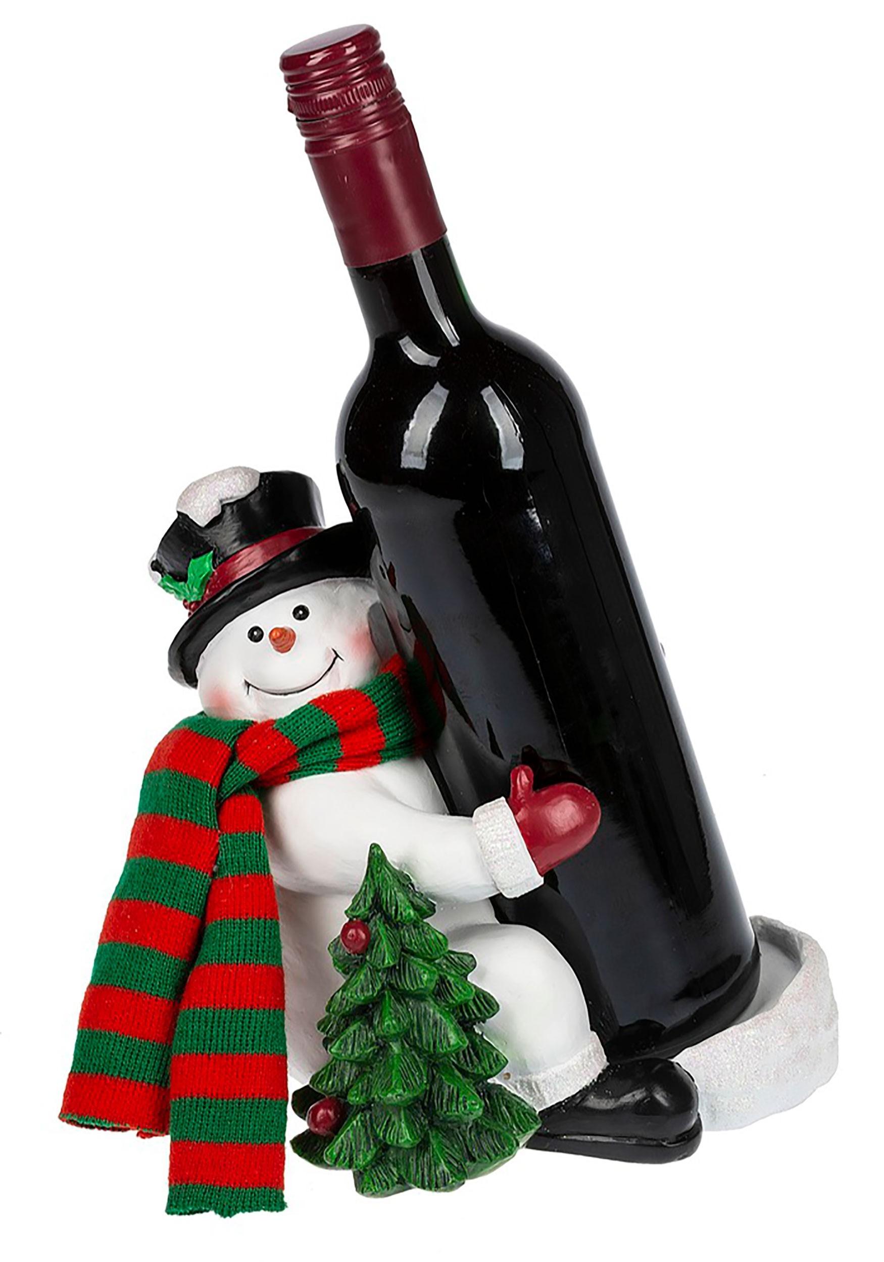 Wine Bottle Christmas Tree Rack.Wine Bottle Holder Christmas Tree Snowman