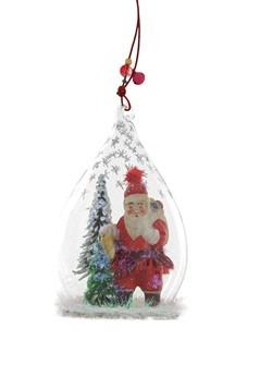 Father Christmas Globe Ornament