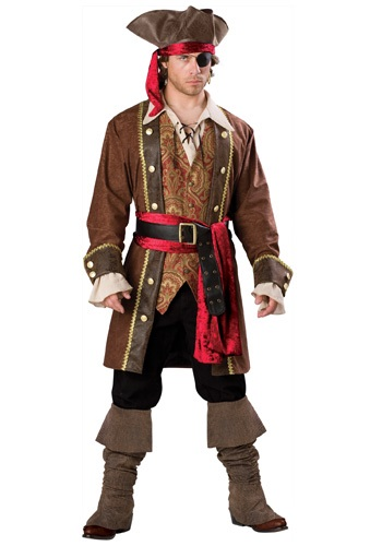 Skullduggery Skipper Pirate Costume