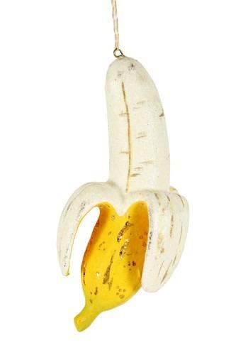 Peeled Banana Christmas Ornament