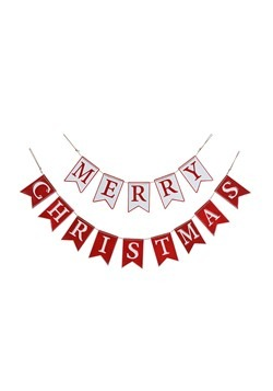 Enamel Metal Merry Christmas Banner