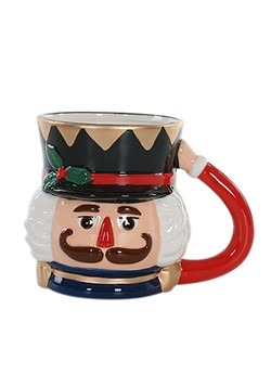 Ceramic Nutcracker Mug