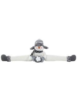 "36""Wide Plush Snowman Draft Dodger Christmas Decor"