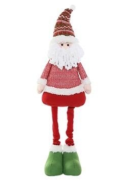 "45"" Plush Festive Santa Christmas Decor w/ Telesco"