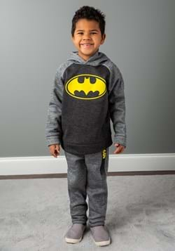 Batman Pullover Hooded Sweatshirt and Pants Set