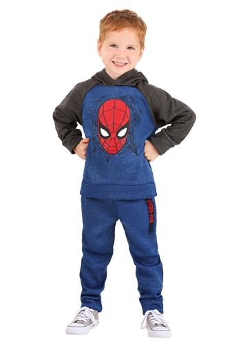 Spider-Man Pullover Hooded Sweatshirt & Pants Set