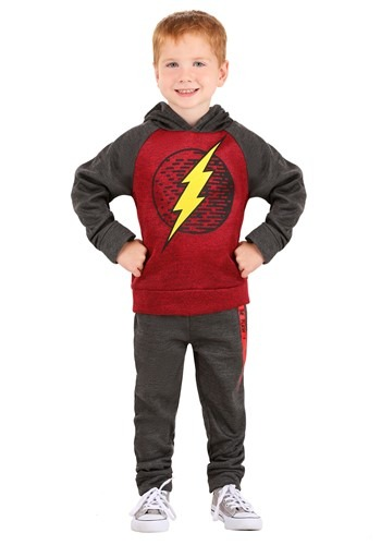 The Flash Pullover Hooded Sweatshirt and Pants Set