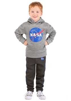 NASA Pullover Hooded Sweatshirt and Pants Set