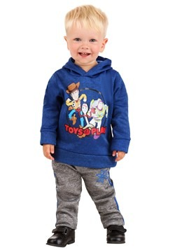 Toddler Toy Story Hooded Sweatshirt and Pants Set