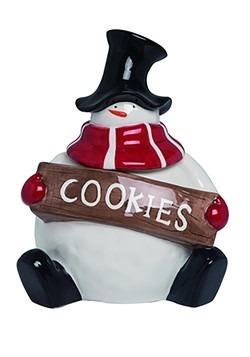 Frosties Snowman Dolomite Cookie Jar