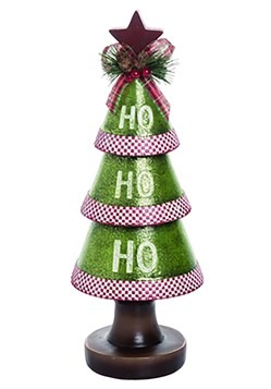 13 Resin Ho Ho Ho Christmas Tree