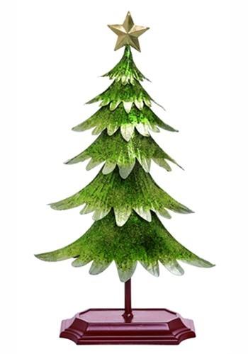 Glitter Green Christmas Tree