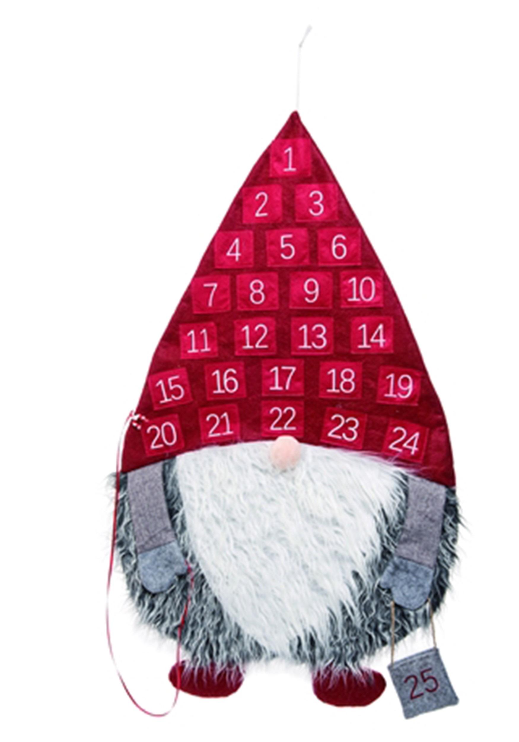 Gnome Fabric Advent Calendar