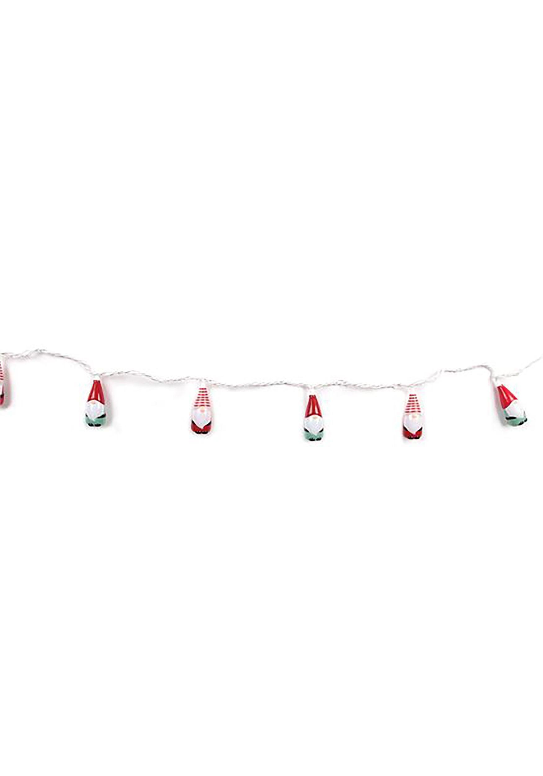 10 Gnome String Lights Set