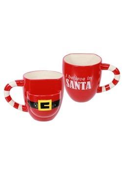 Ceramic Santa Cookie Pocket Mug