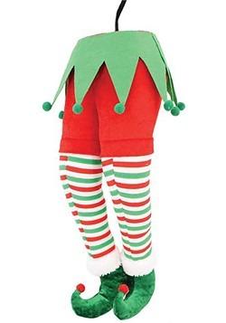 Red Pants Elf Butt Hanger Christmas Décor
