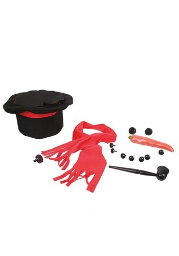 Snowman Accessory Kit in a Top Hat