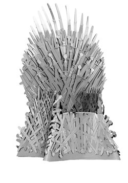 Metal Earth Iconx Game of Thrones Iron Throne Model