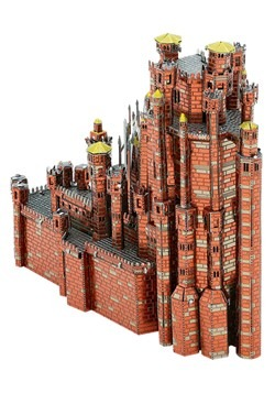 Metal Earth Iconx Game of Thrones Red Keep Model Alt 1
