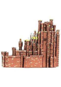 Metal Earth Iconx Game of Thrones Red Keep Model Alt 3