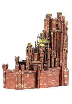Metal Earth Iconx Game of Thrones Red Keep Model Alt 4
