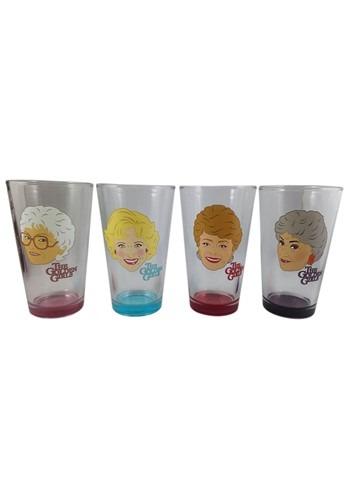 Golden Girls 4 Pack Pint Glass Set