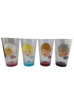Golden Girls 4 Pack Pint Glass Set