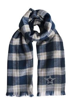 NFL Dallas Cowboys Plaid Blanket Scarf