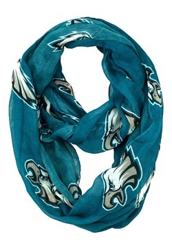 NFL Philadelphia Eagles Sheer Infinity Scarf