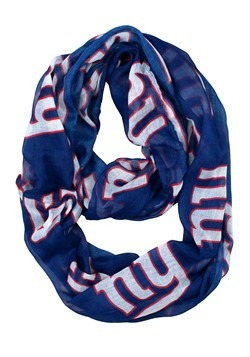 NFL New York Giants Sheer Infinity Scarf