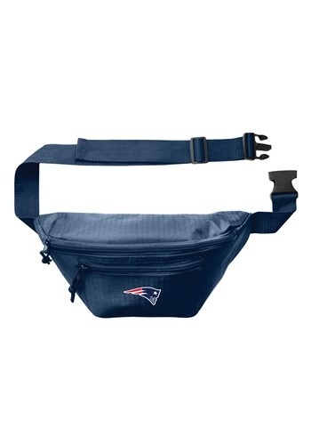 New England Patriots NFL 3 Zip Hip Fanny Pack