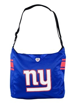 NFL New York Giants Team Jersey Tote Bag