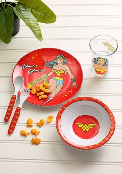 Wonder Woman Melamine Melatime Set