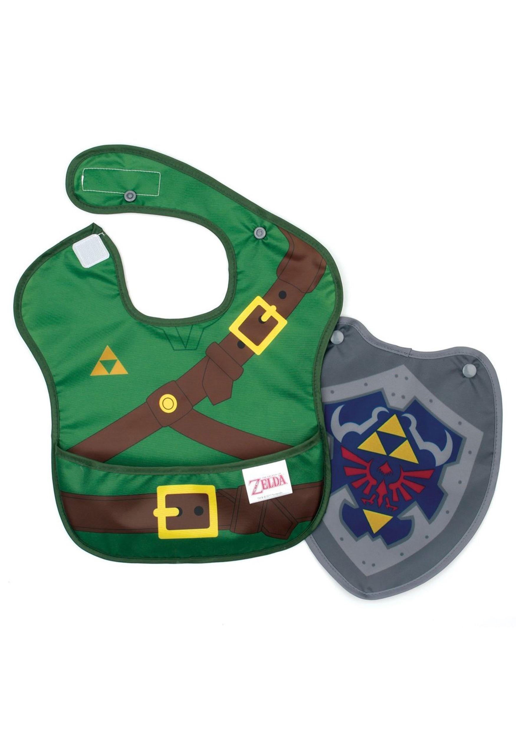 Nintendo Legend of Zelda Link SuperBib with Cape (6-24 months)