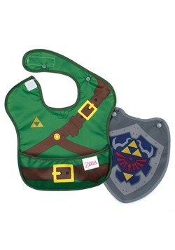 Legenda of Zelda Link SuperBib with Cape (6-24 months)