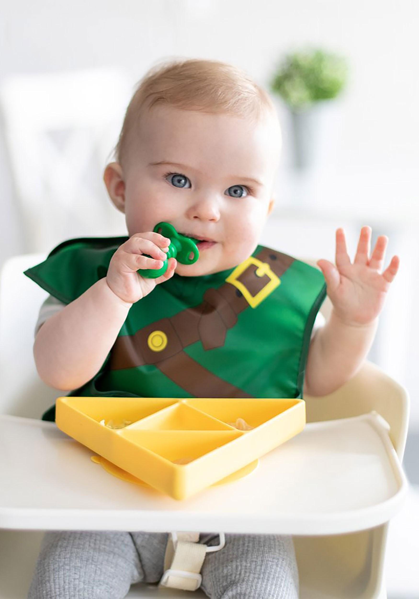 Silicone Zelda Tri Force Grip Dish