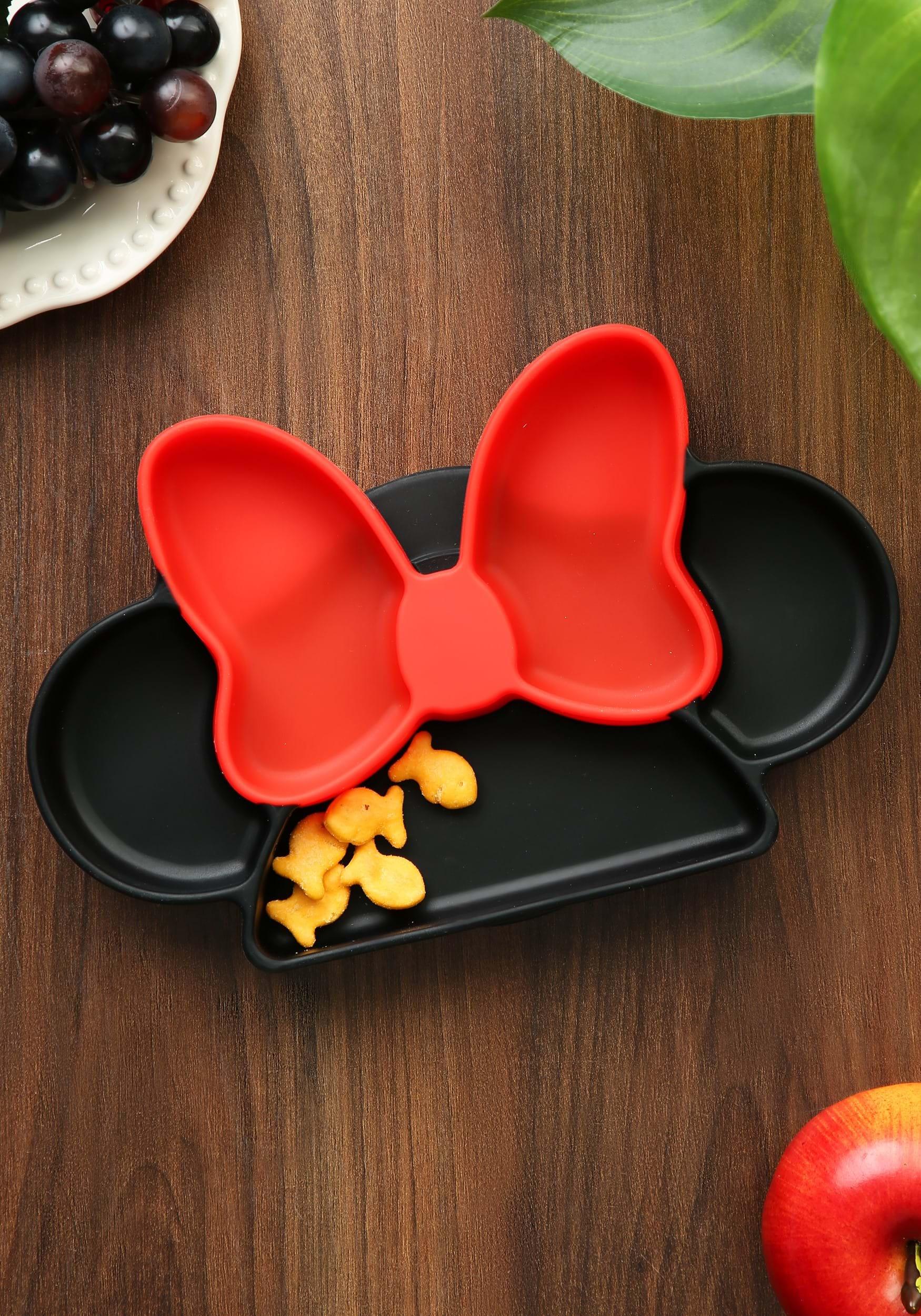 Minnie Mouse Disney Silicone Grip Dish