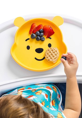 Winnie the Pooh Silicone Grip Dish Upd